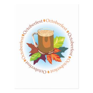 Oktoberfest Badge Postcard