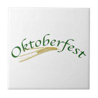 Oktoberfest!-Barley Ceramic Tile