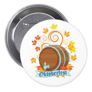 Oktoberfest Barrel Button