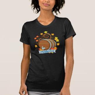Oktoberfest Barrel Womens T-Shirt
