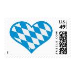 Oktoberfest Bavaria heart Postage Stamps