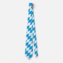 Oktoberfest, Bavarian Flag Neck Tie