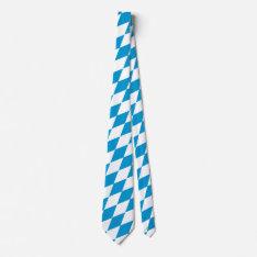 Oktoberfest, Bavarian Flag Neck Tie at Zazzle