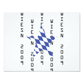 Oktoberfest bavarian icon personalized invite