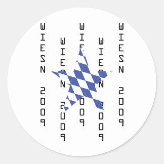 Oktoberfest bavarian icon sticker