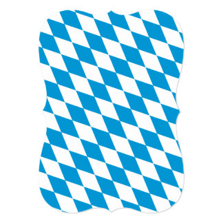 Oktoberfest, Bayern Colors 5x7 Paper Invitation Card