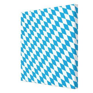 Oktoberfest, Bayern Colors Canvas Print
