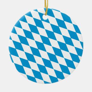Oktoberfest, Bayern Colors Ceramic Ornament