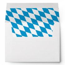Oktoberfest, Bayern Colors Envelope