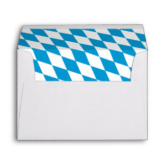 Oktoberfest, Bayern Colors Envelope