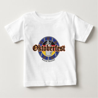 Oktoberfest Beer and Pretzels Baby T-Shirt