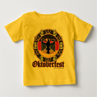 Oktoberfest Beer and Pretzels Baby T-Shirt