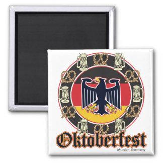 Oktoberfest Beer and Pretzels Magnet
