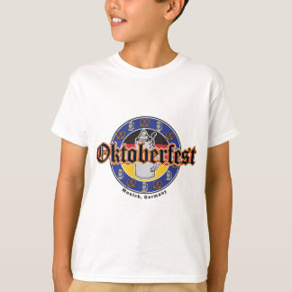 Oktoberfest Beer and Pretzels T-Shirt