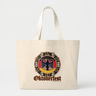 Oktoberfest Beer and Pretzels Tote Bags