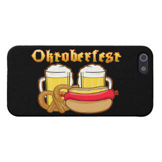 Oktoberfest Beer Bratwurst Pretzel Case For iPhone SE/5/5s