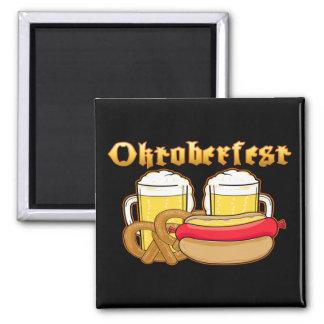 Oktoberfest Beer Bratwurst Pretzel Magnet