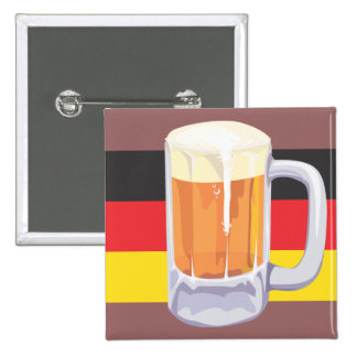 Oktoberfest Beer Button