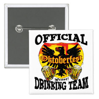 Oktoberfest Beer Drinking Team Shirts and Gifts Button