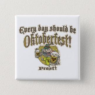 Oktoberfest Beer Guy Pinback Button