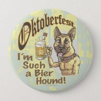 Oktoberfest Beer Hound Pinback Button