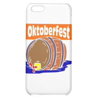 Oktoberfest beer keg case for iPhone 5C