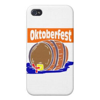 Oktoberfest beer keg iPhone 4 covers