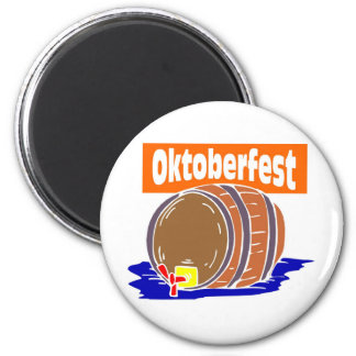Oktoberfest beer keg magnet