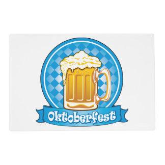 Oktoberfest Beer Label, Detailed Placemat