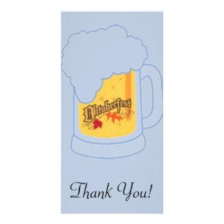 Oktoberfest Beer Mug Card