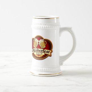 Oktoberfest Beer Party 2010 Customizable Date Coffee Mugs