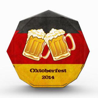 Oktoberfest Beer Party - Germany Drinking Team Acrylic Award