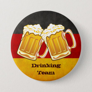 Oktoberfest Beer Party - Germany Drinking Team Button