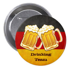 Oktoberfest Beer Party - Germany Drinking Team Button at Zazzle