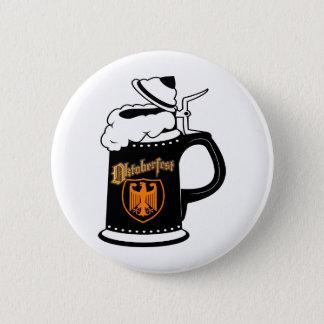 Oktoberfest Beer Stein Pinback Button