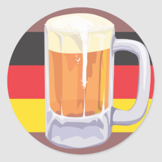 Oktoberfest Beer Sticker