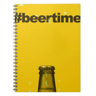 Oktoberfest - Beer Time Spiral Notebook