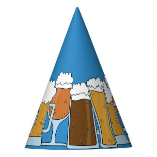Oktoberfest Beerfest. Beer Collection. Party Hat