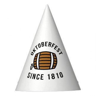 Oktoberfest Beerfest Festival Since 1910 Party Hat