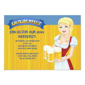 Oktoberfest Beerfest Invitation