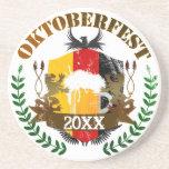 Oktoberfest Beverage Coaster