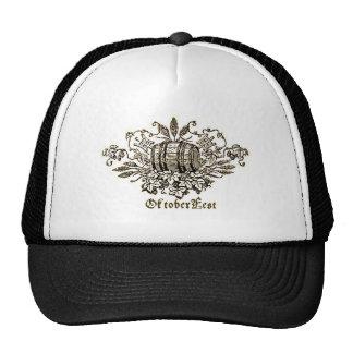 OktoberFest Bier Keg Print Trucker Hat