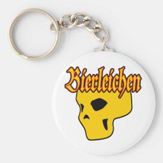 Oktoberfest Bierleichen Skull Keychain
