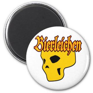 Oktoberfest Bierleichen Skull Magnet