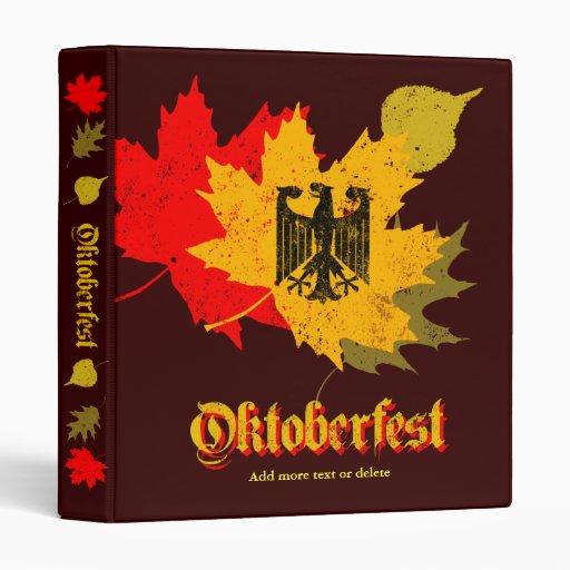 Oktoberfest Binder