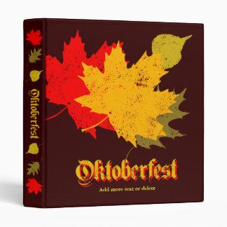 Oktoberfest 3 Ring Binders