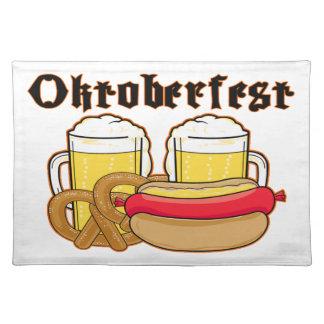 Oktoberfest Bratwurst & Beer Placemat