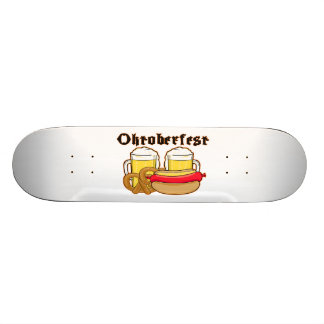 Oktoberfest Bratwurst & Beer Skateboard Deck