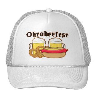 Oktoberfest Bratwurst & Beer Trucker Hat