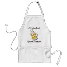 Oktoberfest Brew Master Apron at Zazzle